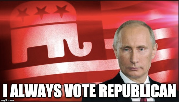 I ALWAYS VOTE REPUBLICAN | image tagged in memes | made w/ Imgflip meme maker