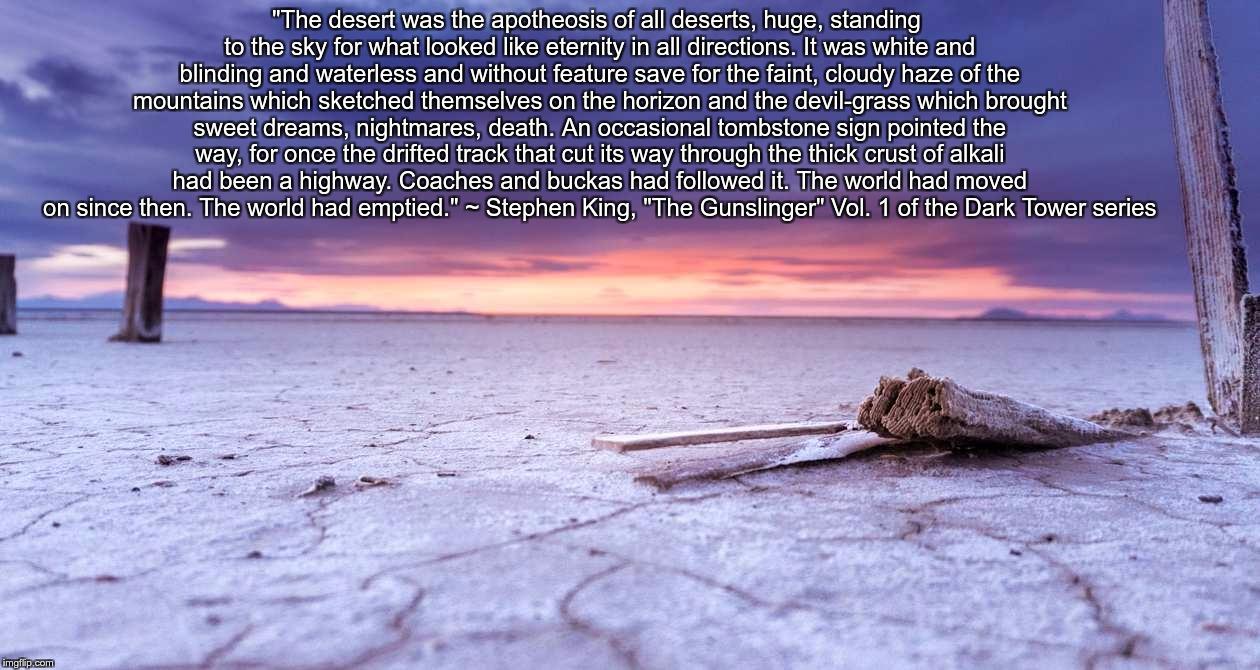Image Tagged In Bonneville Salt Flats Empty Desert Imgflip - All deserts