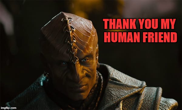 THANK YOU MY HUMAN FRIEND | made w/ Imgflip meme maker