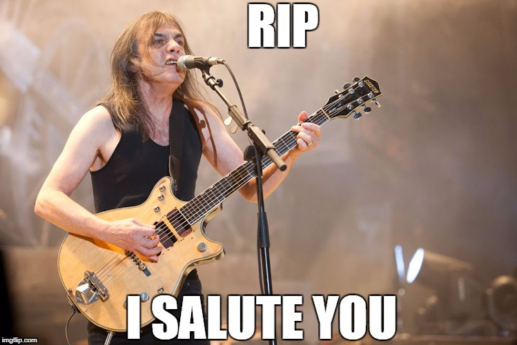 Ride On.... | RIP I SALUTE YOU | image tagged in rock and roll | made w/ Imgflip meme maker