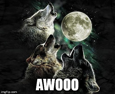 AWOOO | made w/ Imgflip meme maker