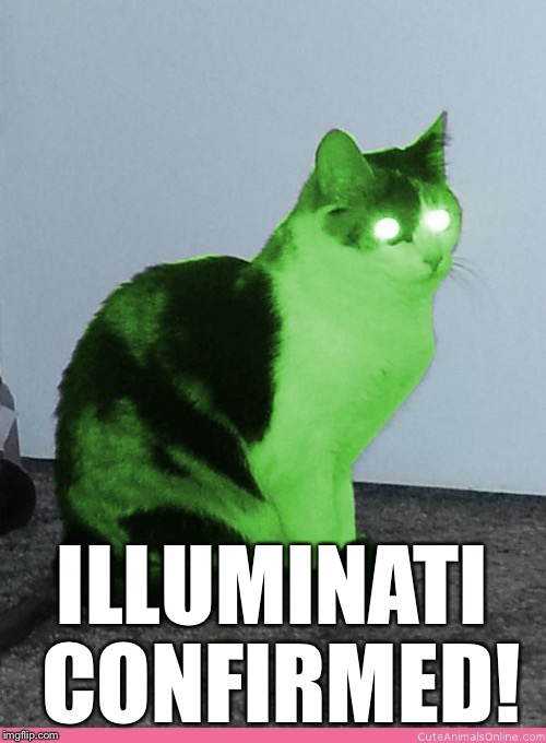 Hypno Raycat | ILLUMINATI CONFIRMED! | image tagged in hypno raycat | made w/ Imgflip meme maker