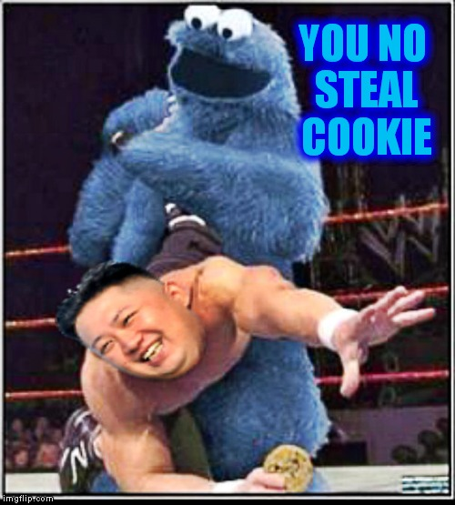 YOU NO STEAL COOKIE | made w/ Imgflip meme maker