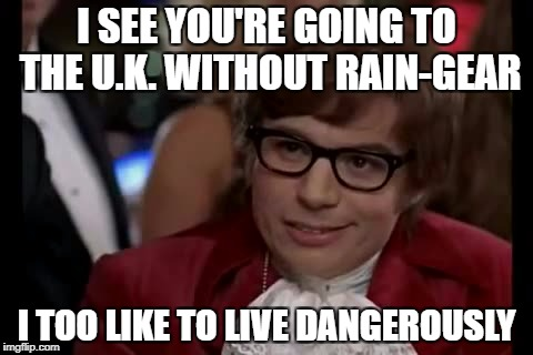 """I should know..."" 