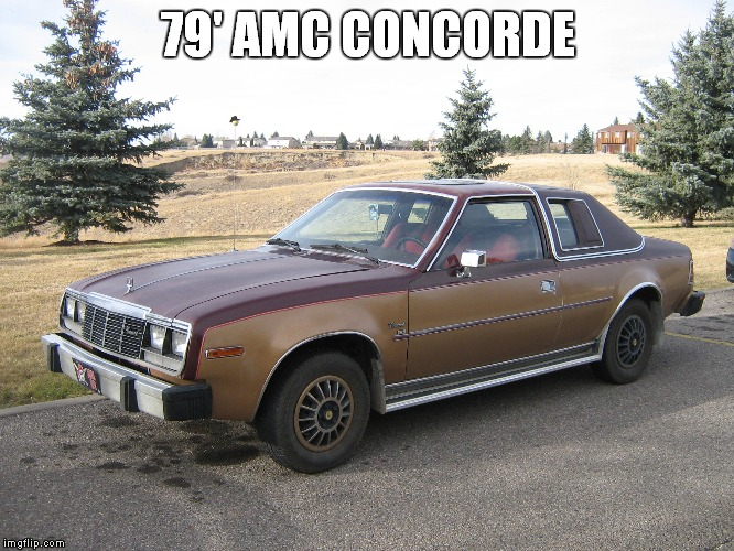 79' AMC CONCORDE | made w/ Imgflip meme maker