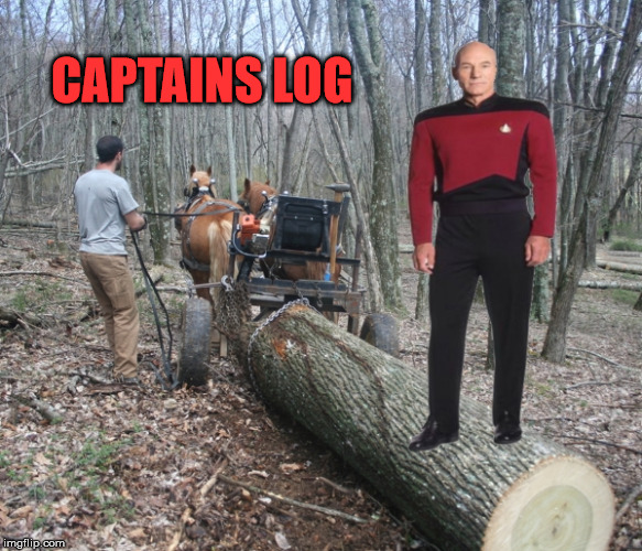 Star Trek Week! a brandy_jackson Tombstone 1881 and coollew event! Nov. 20th to the 27th  | CAPTAINS LOG | image tagged in star trek week | made w/ Imgflip meme maker