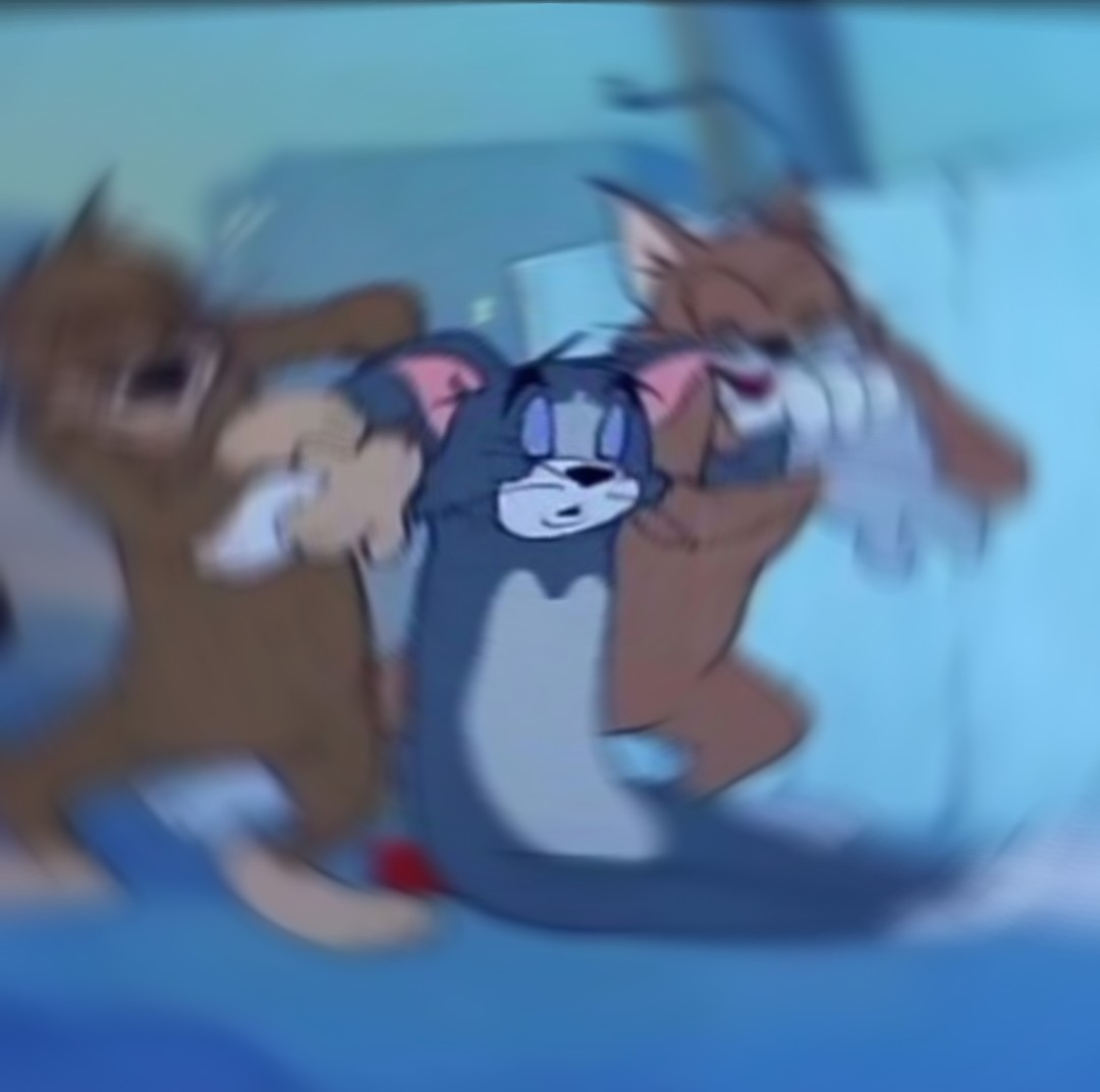 Tom And Jerry Dying Blank Template Imgflip
