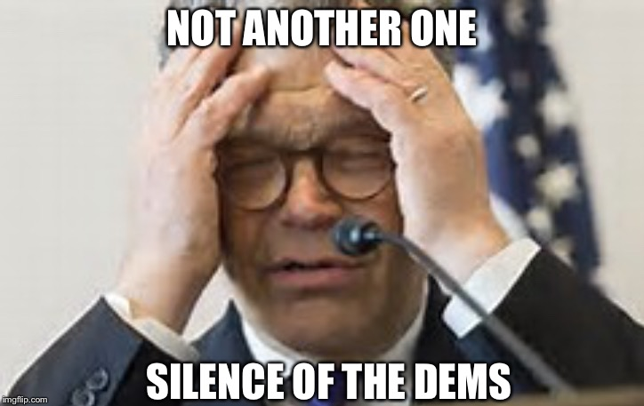 NOT ANOTHER ONE SILENCE OF THE DEMS | image tagged in shallow al | made w/ Imgflip meme maker