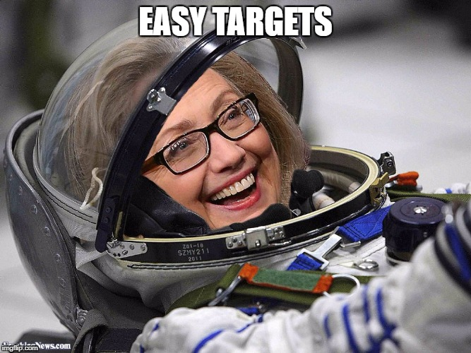 EASY TARGETS | made w/ Imgflip meme maker