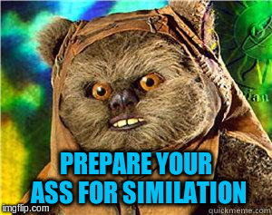 PREPARE YOUR ASS FOR SIMILATION | made w/ Imgflip meme maker