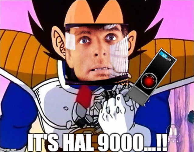 It's HAL 9000 | image tagged in hal 9000,its over 9000,2001 a space odyssey | made w/ Imgflip meme maker