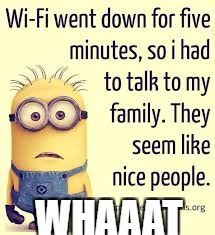 WHAAAT | image tagged in wow minions | made w/ Imgflip meme maker