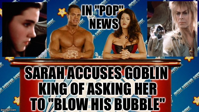 "Jareth ""Puzzled"" by the Allegations... 