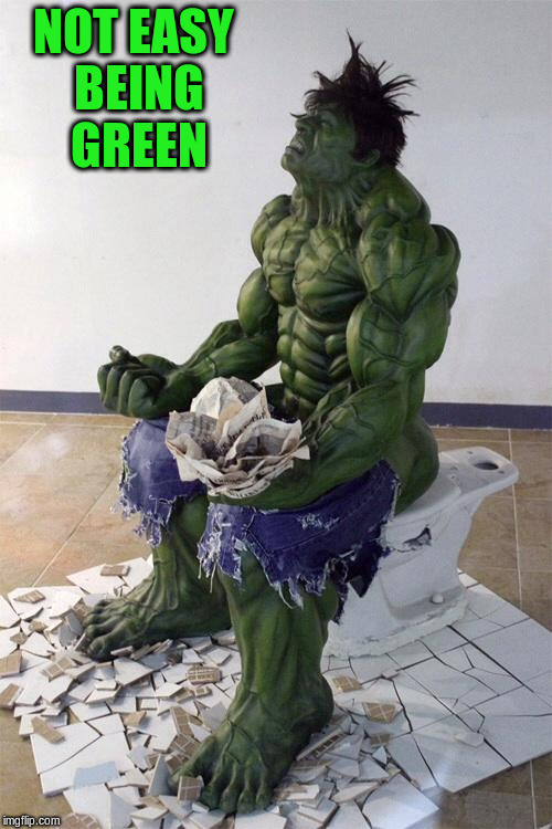 NOT EASY BEING GREEN | made w/ Imgflip meme maker
