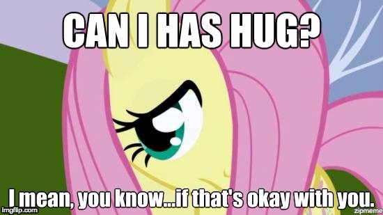 Shy Fluttershy | image tagged in shy fluttershy,memes,fluttershy,can i has hug,can i has | made w/ Imgflip meme maker