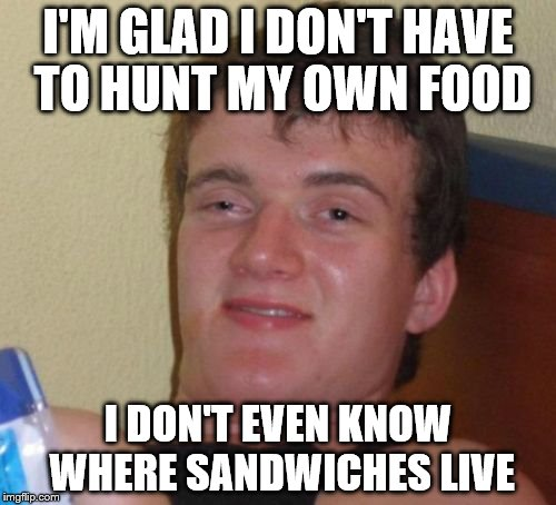"A habitat of ""food"" 