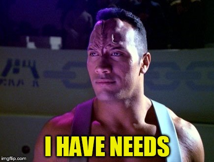 I HAVE NEEDS | made w/ Imgflip meme maker