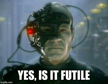 YES, IS IT FUTILE | made w/ Imgflip meme maker