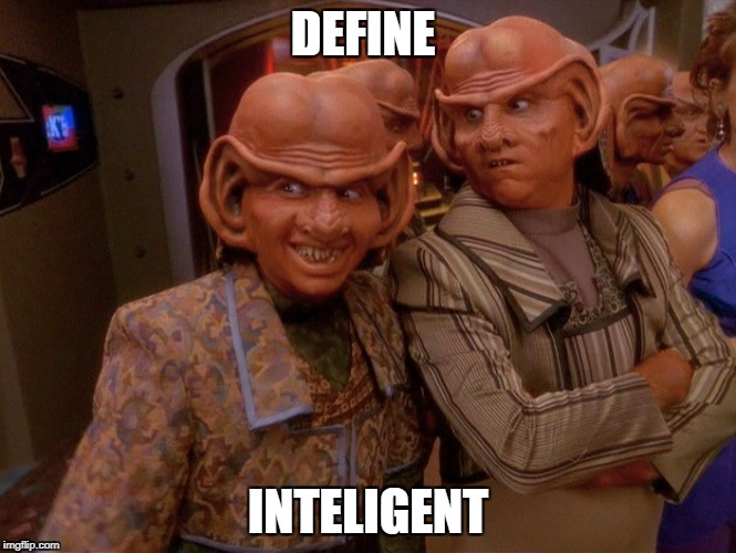 DEFINE INTELIGENT | made w/ Imgflip meme maker