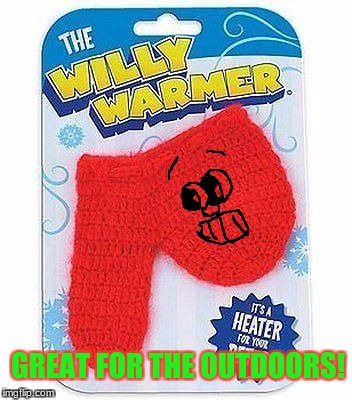 "For Ages 20+,Adult ""Assembly"" Required.  ""Defrost That Willy You Have Any Size This Christmas!""     *smiley face by me* 