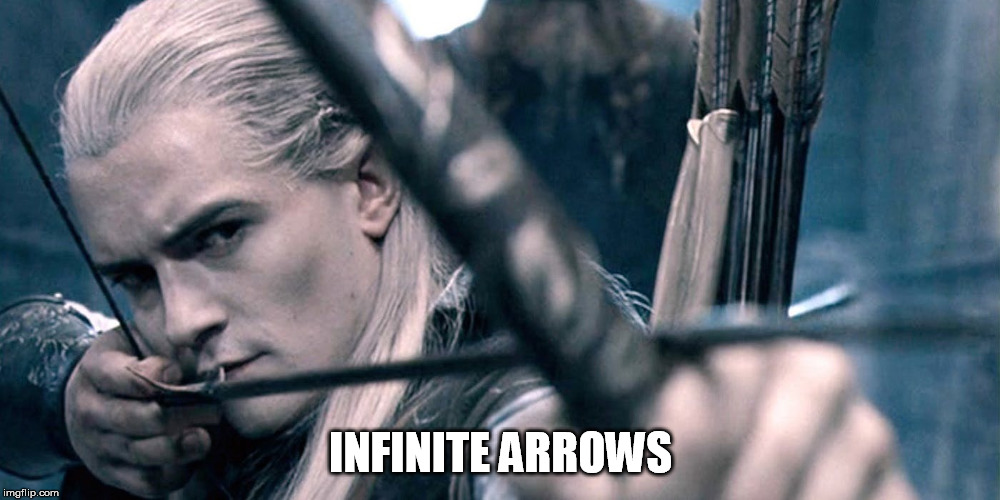 INFINITE ARROWS | made w/ Imgflip meme maker