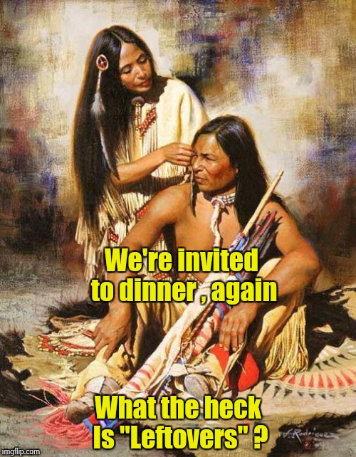 "The day after the ""First Thanksgiving"" 