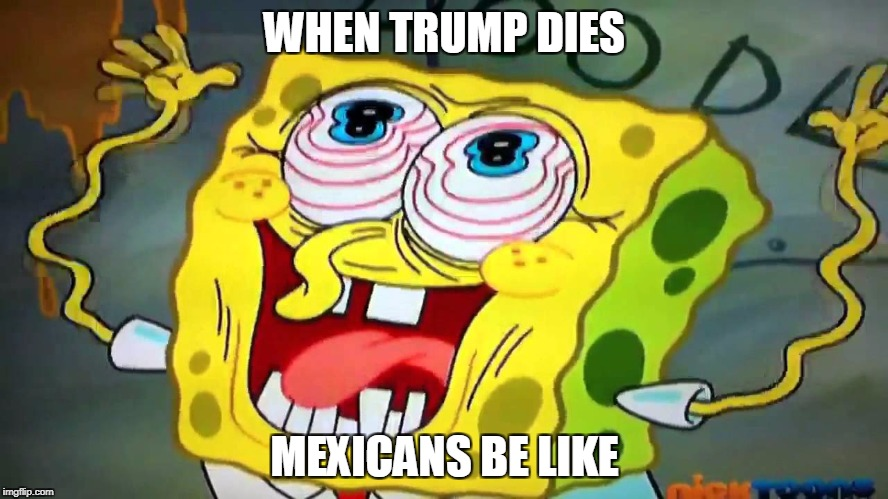 WHEN TRUMP DIES MEXICANS BE LIKE | image tagged in when trump dies | made w/ Imgflip meme maker