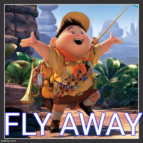 FLY AWAY | made w/ Imgflip meme maker