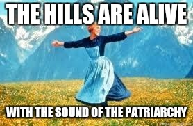 Look At All These | THE HILLS ARE ALIVE WITH THE SOUND OF THE PATRIARCHY | image tagged in memes,look at all these | made w/ Imgflip meme maker