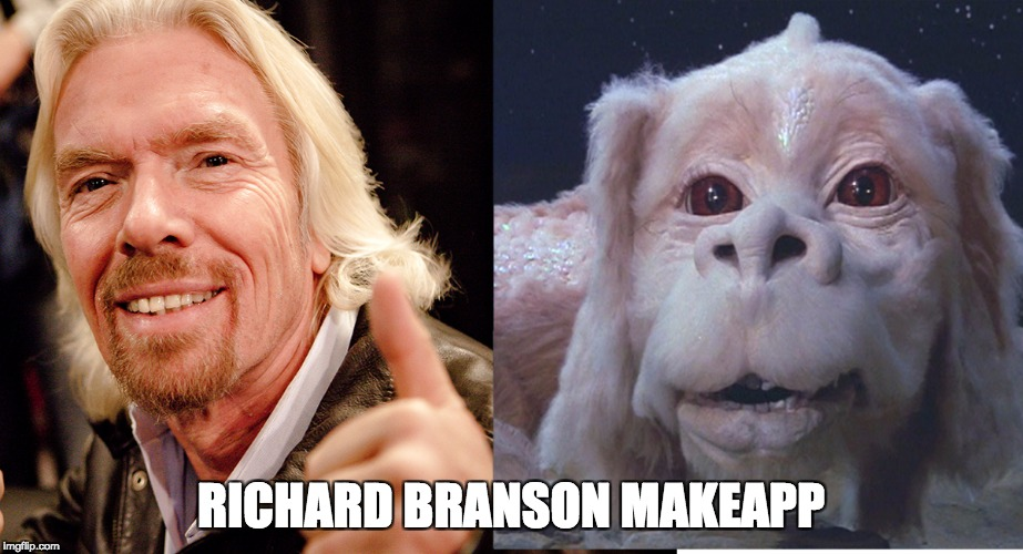 RICHARD BRANSON MAKEAPP | image tagged in richard branson | made w/ Imgflip meme maker
