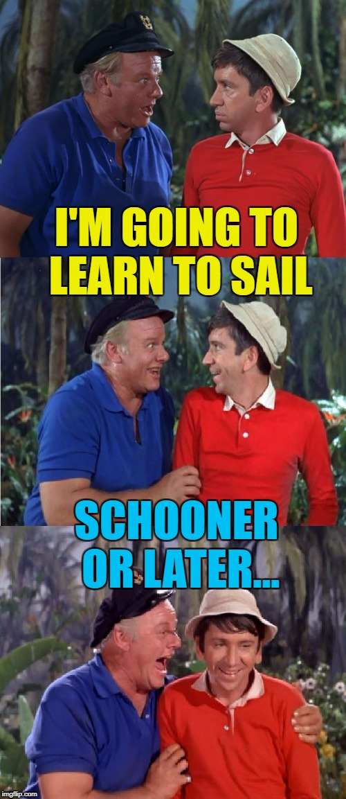 "I don't think a ""later"" has a sail... :) 