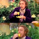 Wonka minds his business meme