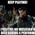 Titanic band cryptocurrency meme