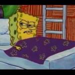 SpongeBob waking up  meme