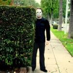 Michael Myers Bush Stalking meme
