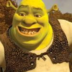 Smiling Shrek meme