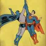 Batman superman high five meme