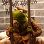 Kermit in jail meme
