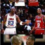 MJ and Kobe meme