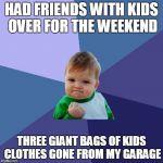 Success Kid Blank Meme Template - Imgflip