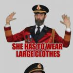 It's that obvious | YO MAMA SO FAT SHE HAS TO WEAR LARGE CLOTHES | image tagged in it's that obvious | made w/ Imgflip meme maker