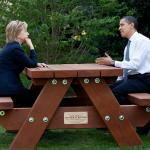 hillary clinton Obama bench nomination deal bargain election meme