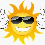 sun thumbs up meme