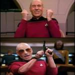 Happy Angry Picard meme