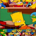 say the line bart! simpsons meme