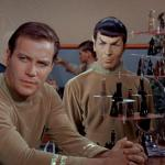 Kirk and Spock play chess meme