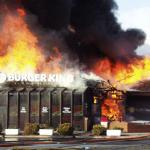 Burger King On Fire meme