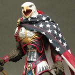 Patriotic Defender Eagle Of America meme