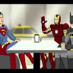 Batman, Superman & Iron Man meme