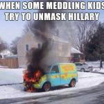 Mystery Machine meme